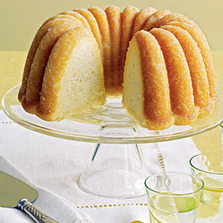 Lemon-Cornmeal Cake