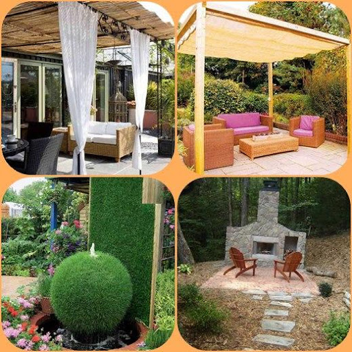 DIYの裏庭のアイデア