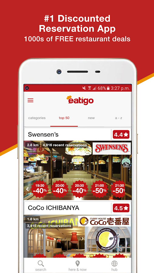 eatigo - restaurant discounts- スクリーンショット