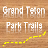 Trails of Grand Teton NP