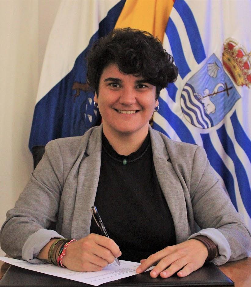 Segunda Teniente de Alcalde Dª Priscila Díaz Bethencourt