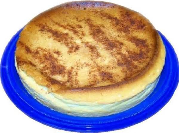 Lenore's Crustless Cheesecake