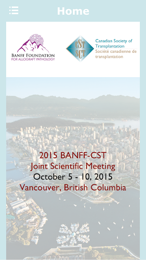 2015 BANFF-CST Joint Meeting