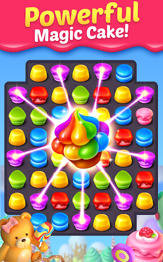 Cake Smash Mania - Swap and Match 3 Puzzle Game screenshots 9