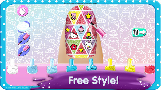 Hello Kitty Nail Salon screenshot 2
