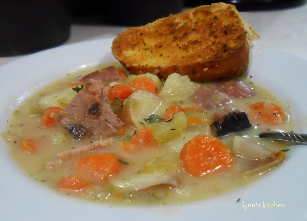 Ham & Potato Soup Recipe