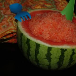 Thai Lemongrass Watermelon Slush.