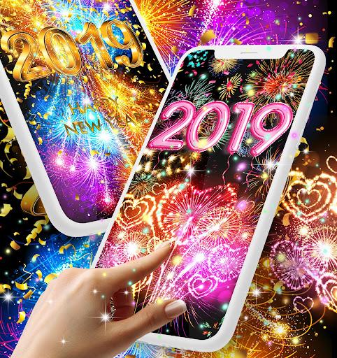 Happy new year 2020 live wallpaper 13.8 screenshots 13
