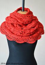 Photo: женский шарф-снуд (хомут) повтор модели Коралл