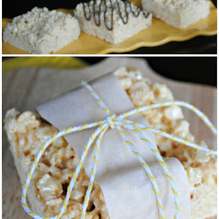 Banana Rice Krispie Treats
