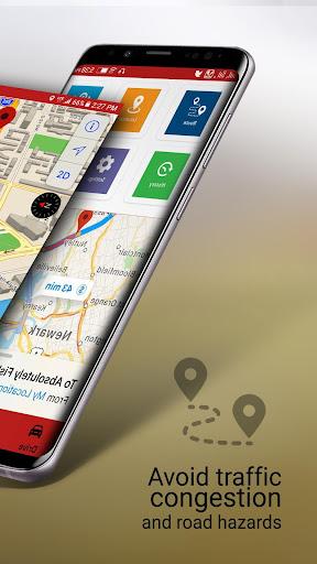 Free-GPS, Maps, Navigation, Directions and Traffic 1.9 screenshots 2