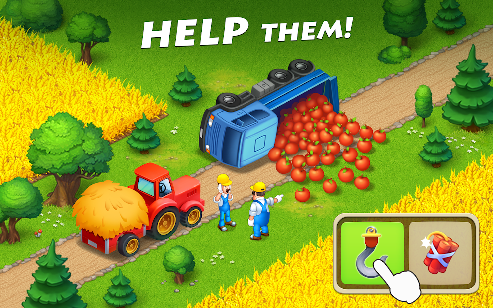 Township Android App Screenshot