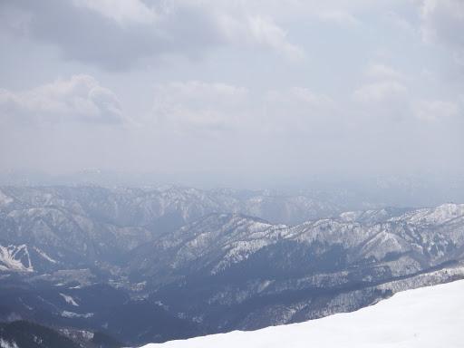 奥美濃の山々