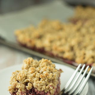Strawberry Oat Crumble Bars and the new Oh She Glows Every Day Cookbook.