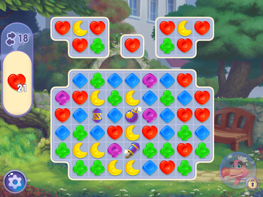WonderMatchu2122uff0dMatch-3 Puzzle Alice's Adventure 2020 2.2 screenshots 23
