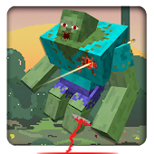 Blocky Zombies Shooting
