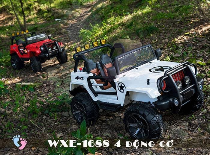 Ô tô điện cho bé WXE-1688 khủng với 4 động cơ 5