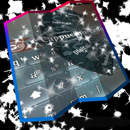 個人化App|卡布奇诺 GO Keyboard LOGO-3C達人阿輝的APP