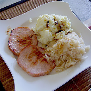 Ingredients Kassler Ribs with Sauerkraut.