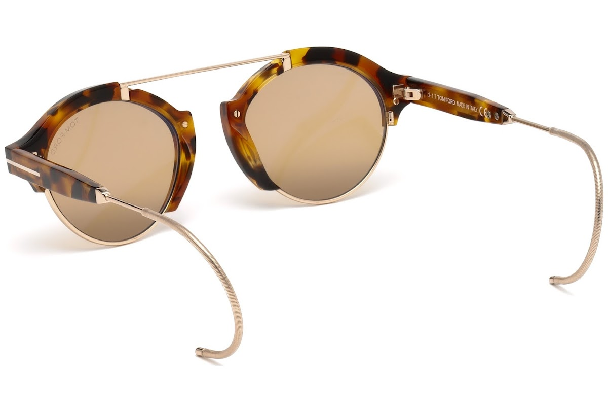 22f23b76e20 Sunglasses Tom Ford Farrah-02 FT0631 C49 55E (coloured havana   brown)