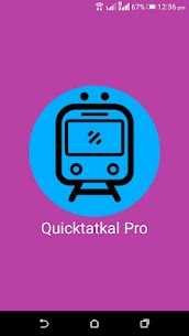 Quictatkal Pro: IRCTC Tatkal Ticket Booking Apk Download For Android 1
