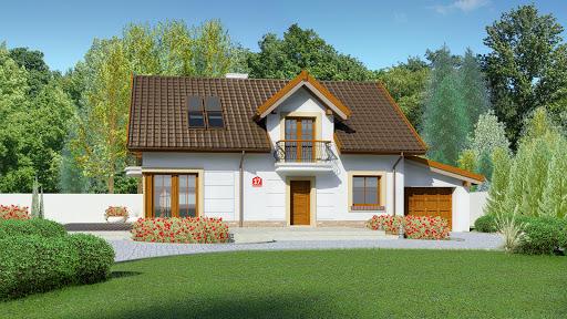 projekt Dom przy Alabastrowej 17
