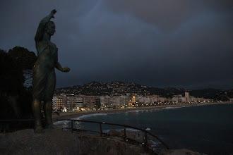 Photo: ... juste le temps d'une visite au bord de mer ...