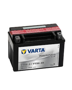 Batteri YTX9-BS - 8Ah