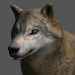 Wolf Pose Tool 3D Icon