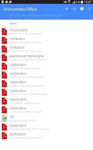 android Singu Dataroom Screenshot 5
