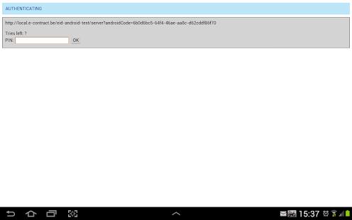 eID Android - náhled