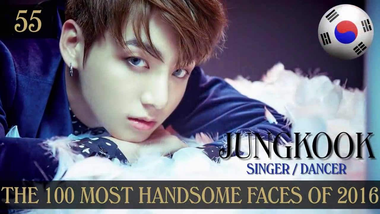 BTS Jungkook the Most Handsome Face by TC Candler 2016