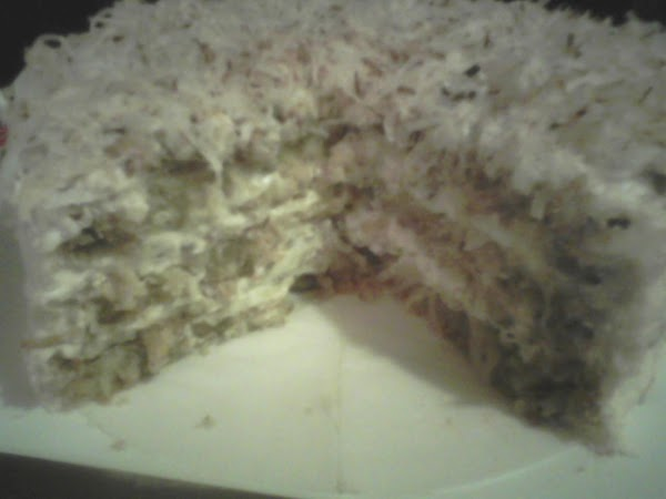 My Pinapple Coconut Cream Cake Recipe