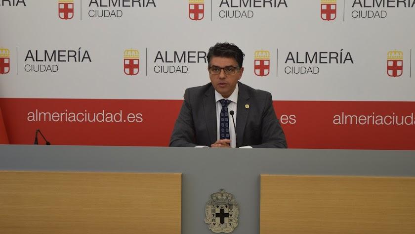 Miguel Cazorla, portavoz del Grupo Municipal Ciudadanos
