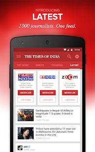 The Times of India News- screenshot thumbnail