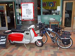 Photo: Bofeili at Lambretta cafe