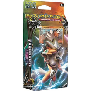 Theme Deck Pokémon Sun & Moon Forbidden Light Lyanroc