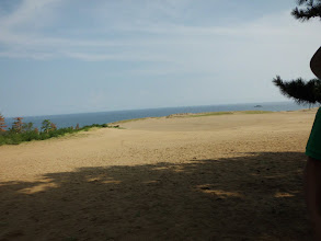 Photo: 砂丘だー!!