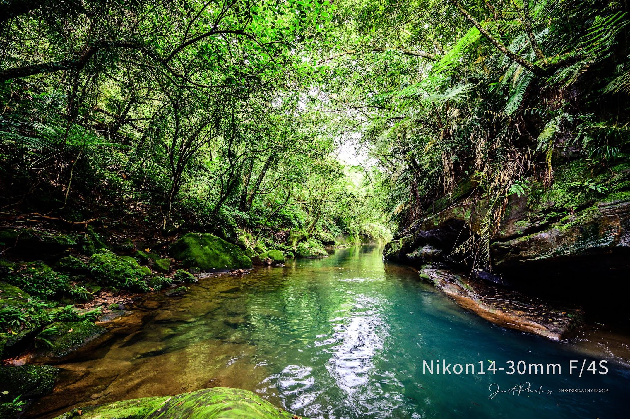 NIKON Z6+NIKON 14-30MM F/4S   f/5.6 1/15s ISO200 瑪陵坑溪亞馬遜秘境。