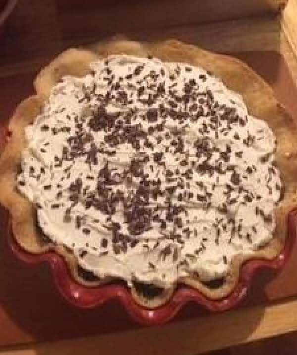 Pie!!! Rich & Creamy Chocolate Pie! Whipped Cream On Top! This Is A Necessary Treat!