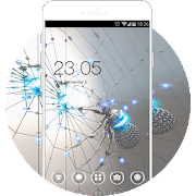 Download Spider Cool Neat Theme: Chrome Metal HD Wallpaper APK for Android Kitkat