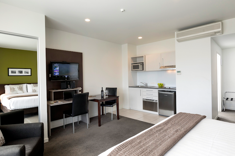 living space at Quest Rotorua Central