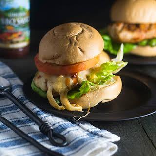 Grilled Chicken & Cheese Sandwich.