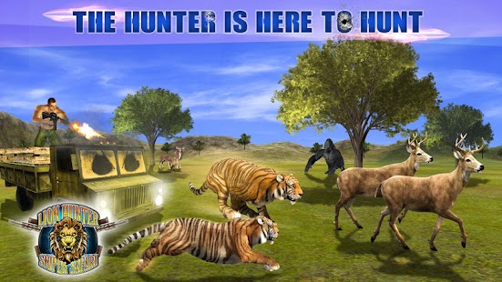 Lion Hunter Sniper Safari - Animal Hunting Game - náhled