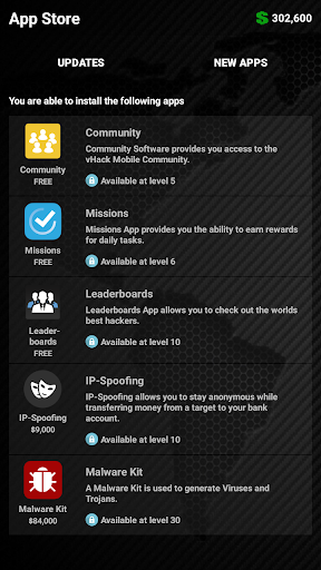 vHackOS - Mobile Hacking Game for PC