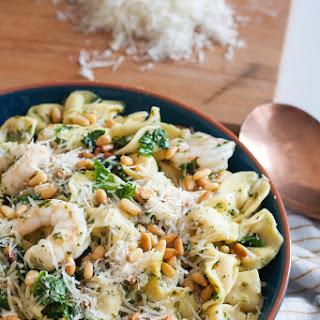 Easy Kale Shrimp Tortellini.