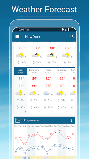 Weather & Radar USA - Severe weather alerts  screenshots 3