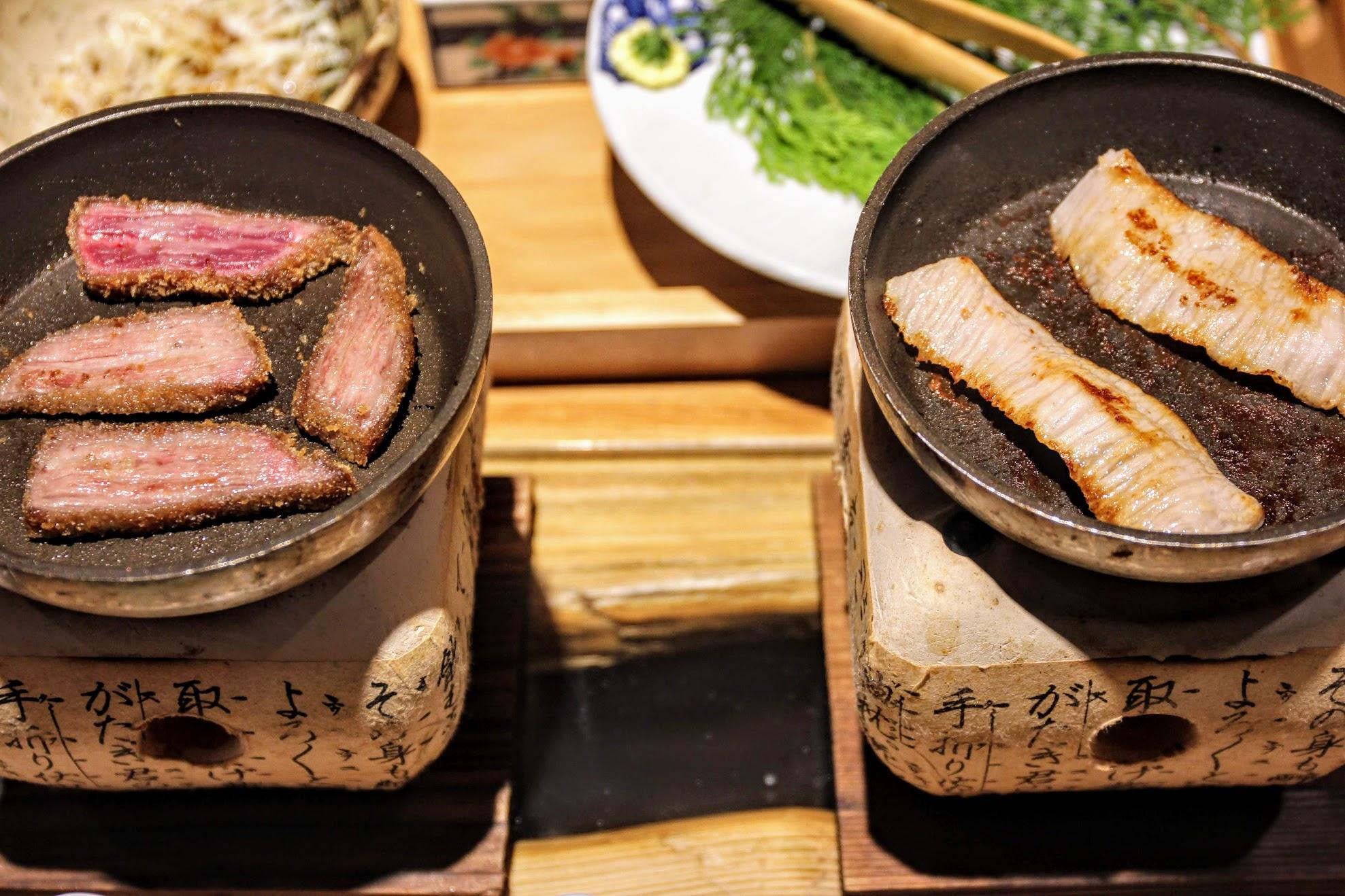 就這樣,一頓餐就結束了...認真說牛肉/豬肉,不管哪種肉選的都不賴,烤起來也好吃