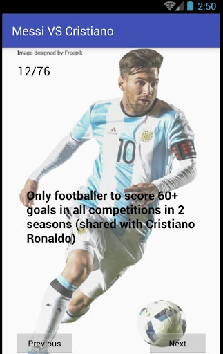 Messi VS Cristiano  screenshots 3