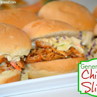 General Tso'S Chicken Sliders with Crunchy Slaw Recipe